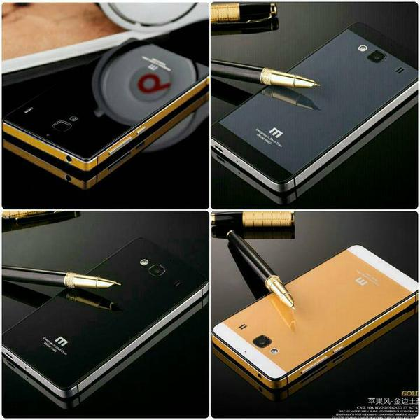 Red Source Note 2 Source Hardcase Aluminium Tempered Glass Series For Xiaomi Redmi .